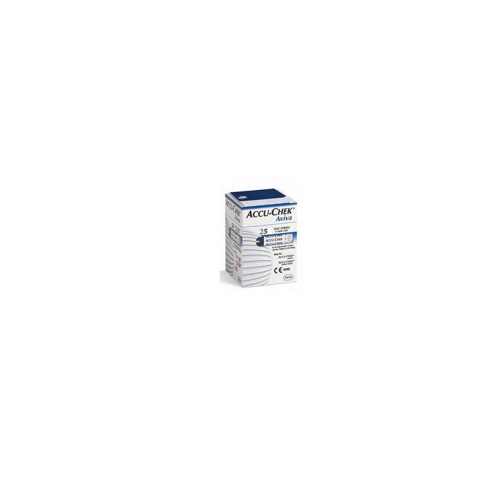 Roche Diagnostics D.Care Accu Chek Aviva 25str - Dispositivo Medico