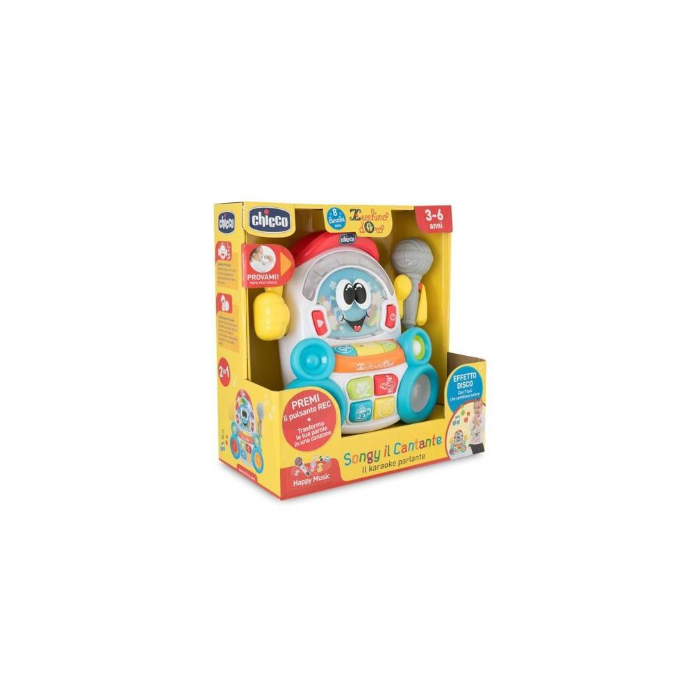 Chicco Gioco 94920 Songy The Singer It