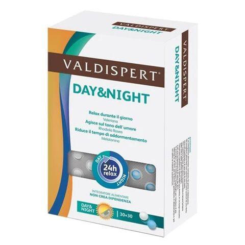 Vemedia Pharma Srl Valdispert Day And Night 30+30 Compresse