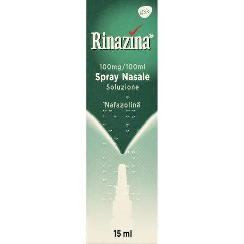 Glaxosmithkline C.Health.Srl Rinazina Spray Nasale 15ml 0,1%