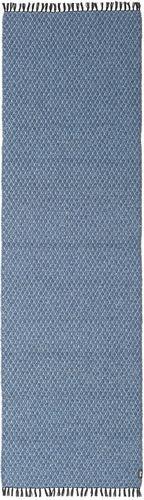 RugVista Tappeto Comfort 70X250 Monocolore Alfombra Pasillo Blu/Azzurro