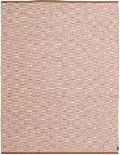 RugVista Tappeto Rosa Chiaro/Bianco/Creme Lyster 150X200 Monocolore