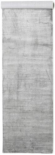 RugVista Tappeto Grigio Chiaro/Bianco/Creme Illusion 100X400 Moderno Monocolore Alfombra Pasillo