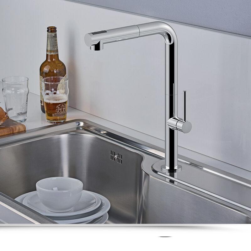 paffoni Miscelatore Cucina con doccia estraibile Paffoni Chef CH985CR