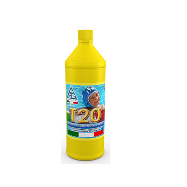 CeramicStore Antialghe profumato T20 antibatterico pronto all'uso confezione da 1 litro