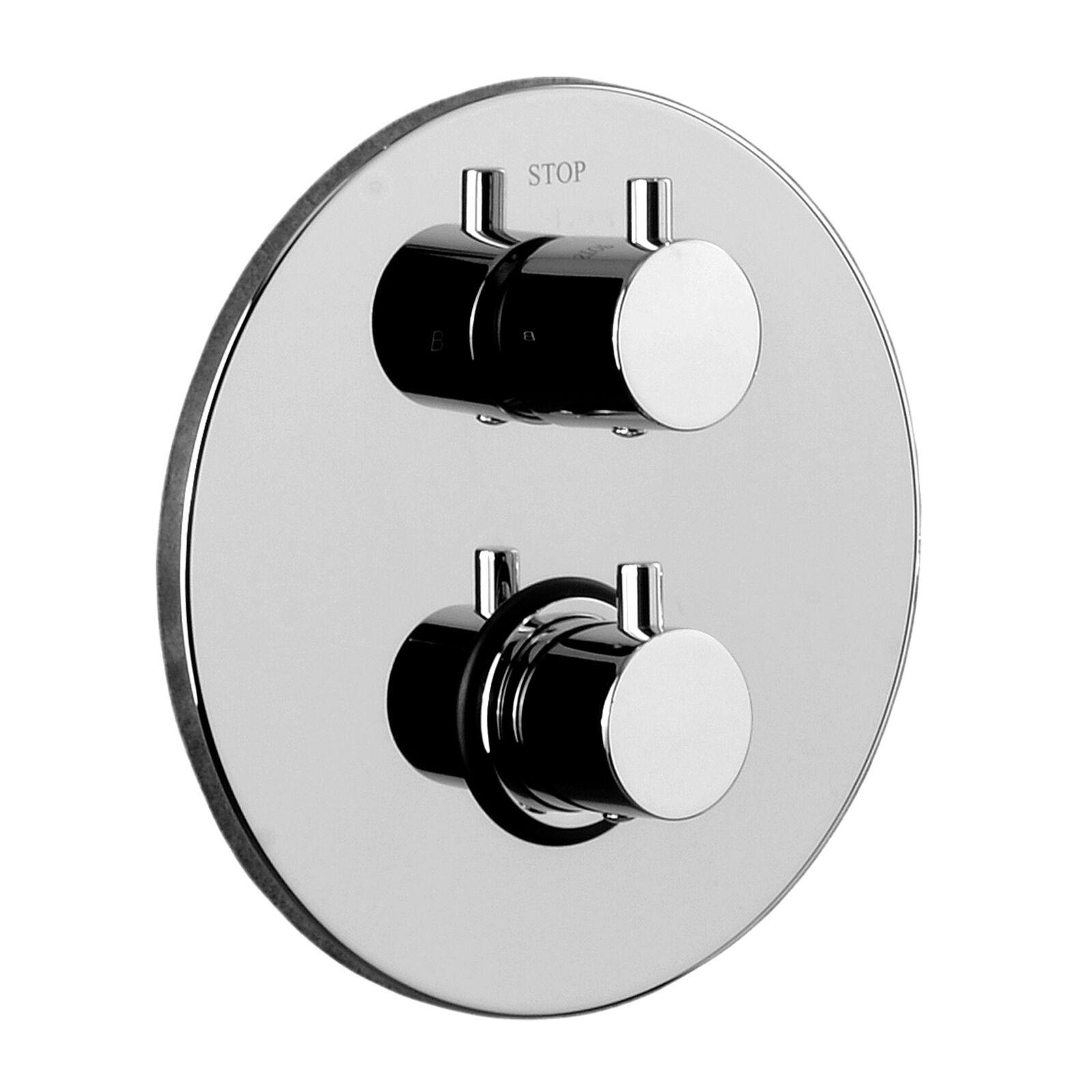 paffoni Miscelatore termostatico incasso doccia 3 uscite Paffoni Light art. LIQ019CR