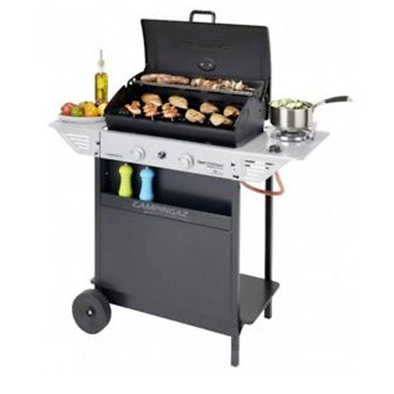 ceramicstore barbecue a gas in pietra lavica campingaz struttura in acciaio peso 21 kg