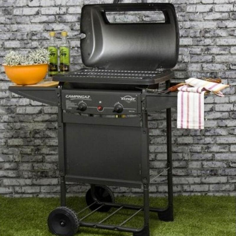 ceramicstore barbecue a gas in pietra lavica marca campingaz accensione e pieza elettrica