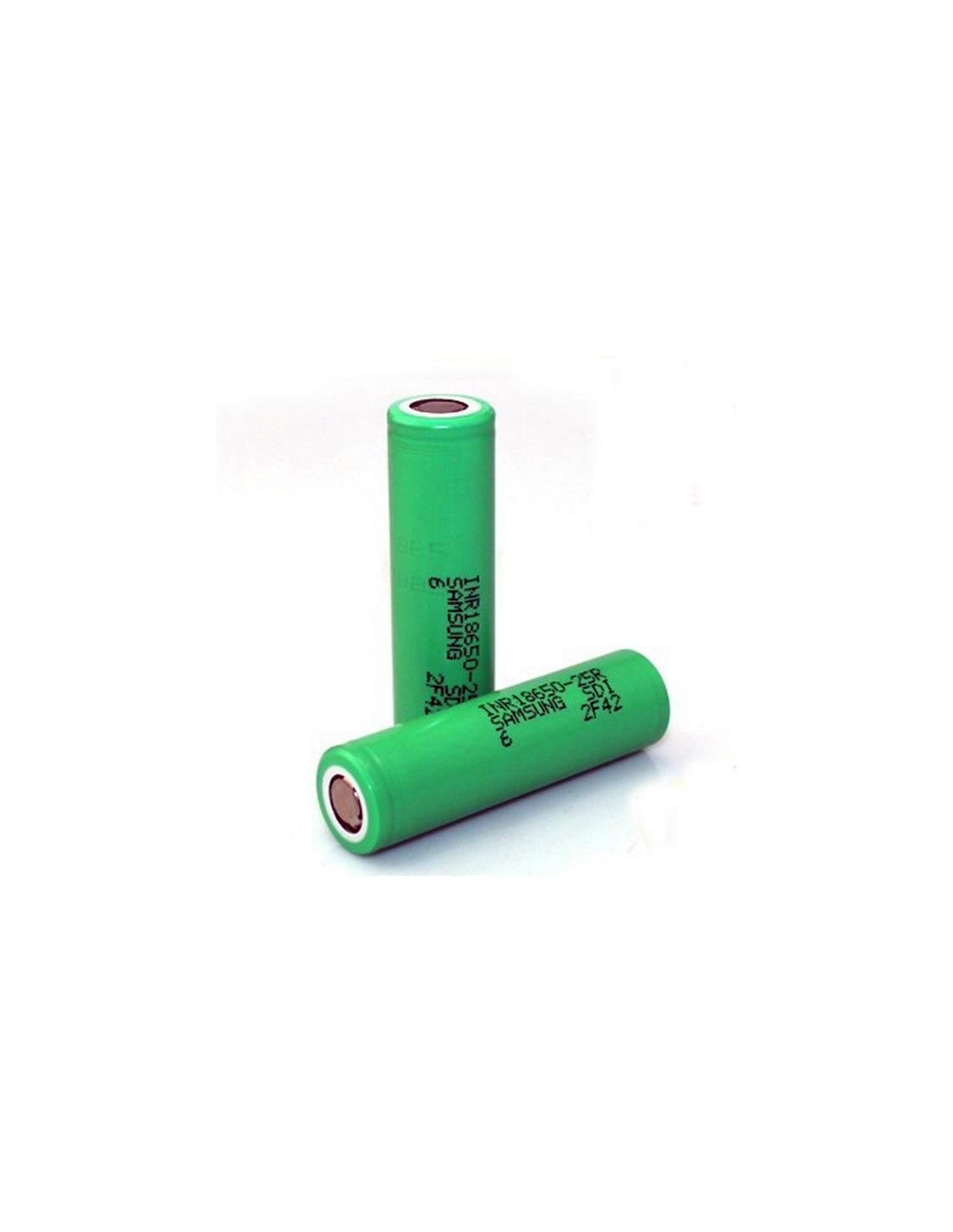 samsung 18650-25r 2500 mah 20a batteria ricaricabile