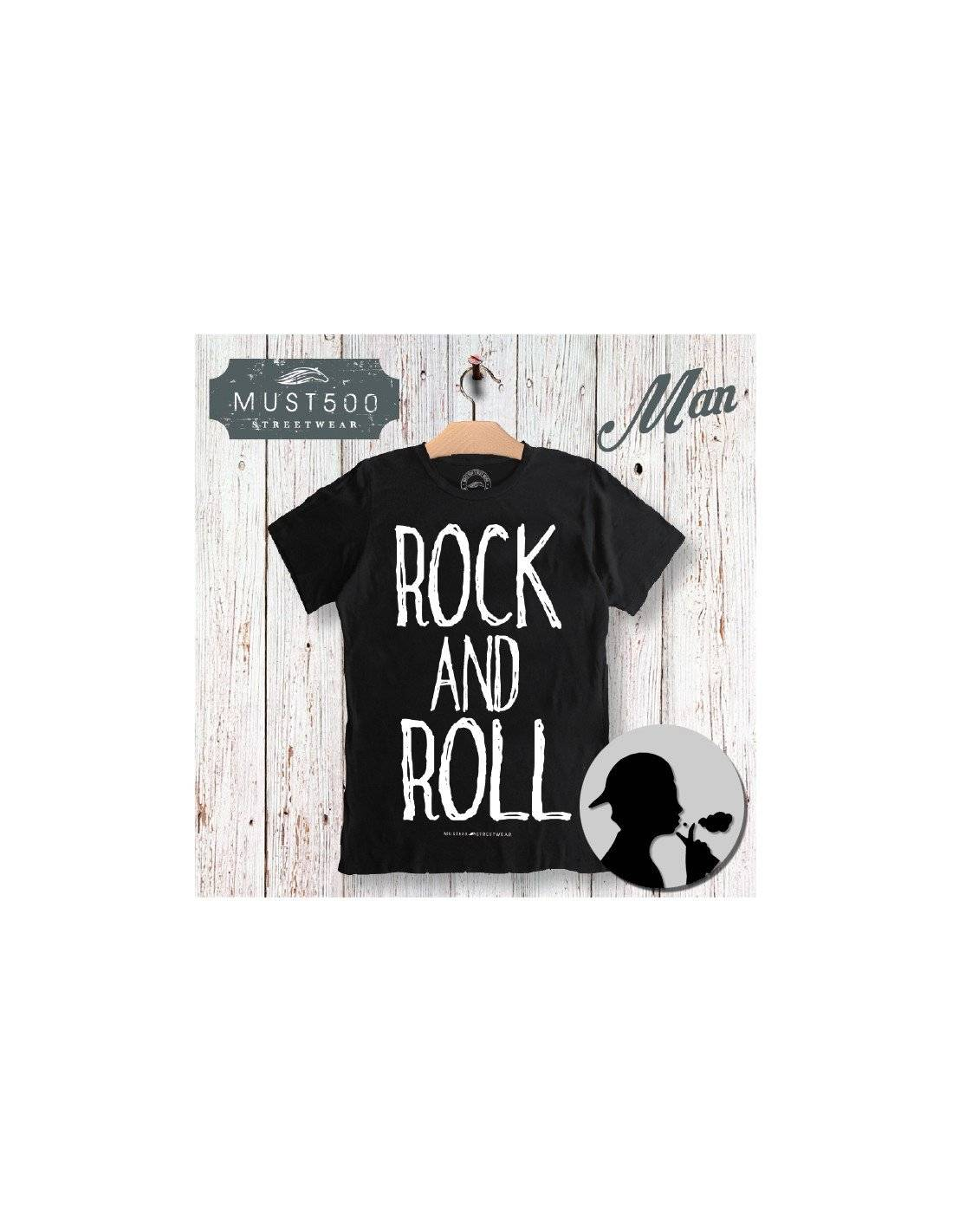 Must500 Rock And Roll T-Shirt Uomo