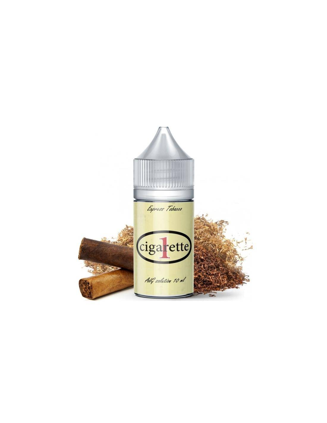 Angolo di Guancia Cigarette One Liquido Adg Natural Easy Aroma Organico 10 Ml Tabaccoso