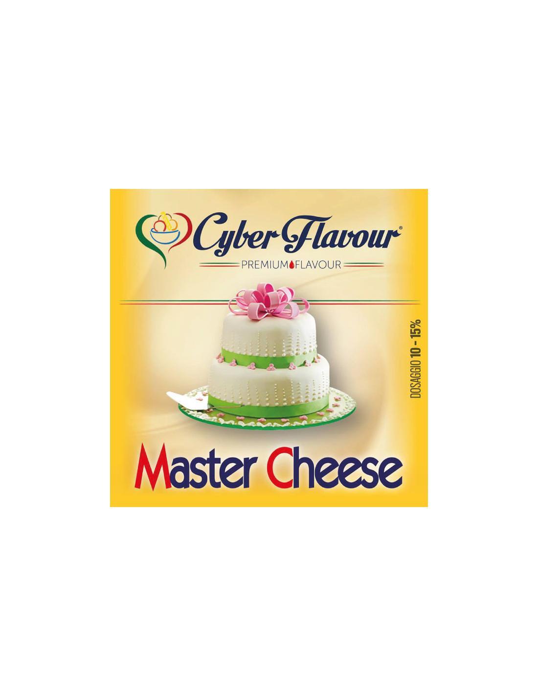 Cyber Flavour Master Cheese Liquido Aroma 10 Ml Torta Al Mascarpone