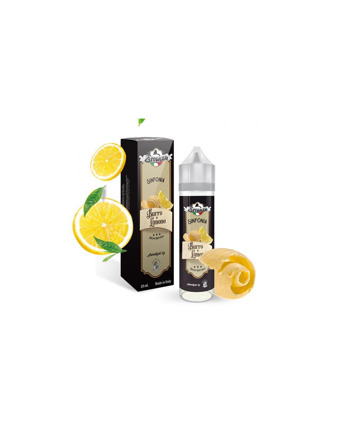 Angolo di Guancia Sinfonia Liquido Adg Essenze 20 Ml Aroma Burro E Limone