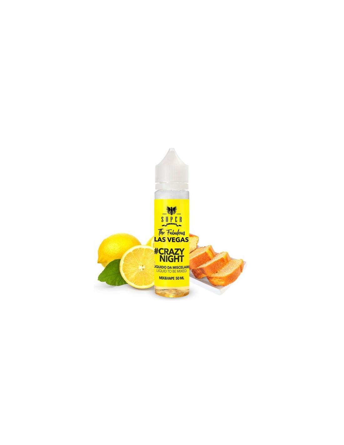 Super Flavor Crazy Night Aroma Mix & Vape Liquido Da 50ml