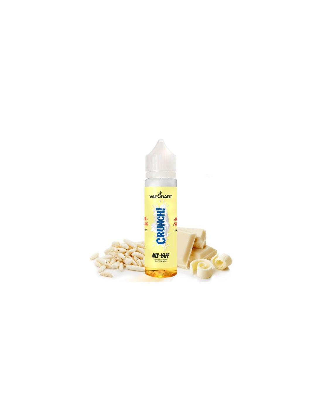 VaporArt Crunch! Liquido Da 40 Ml Aroma Riso Soffiato E Cioccolato Bianco