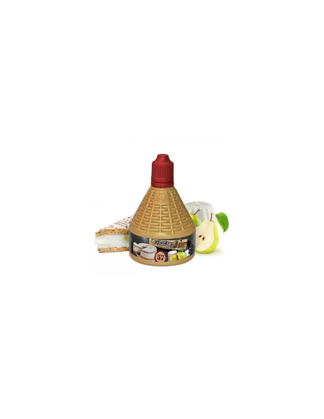 King Liquid La Smorfia Xxl N.57 Liquido Da 30ml Aroma Ricotta E Pere