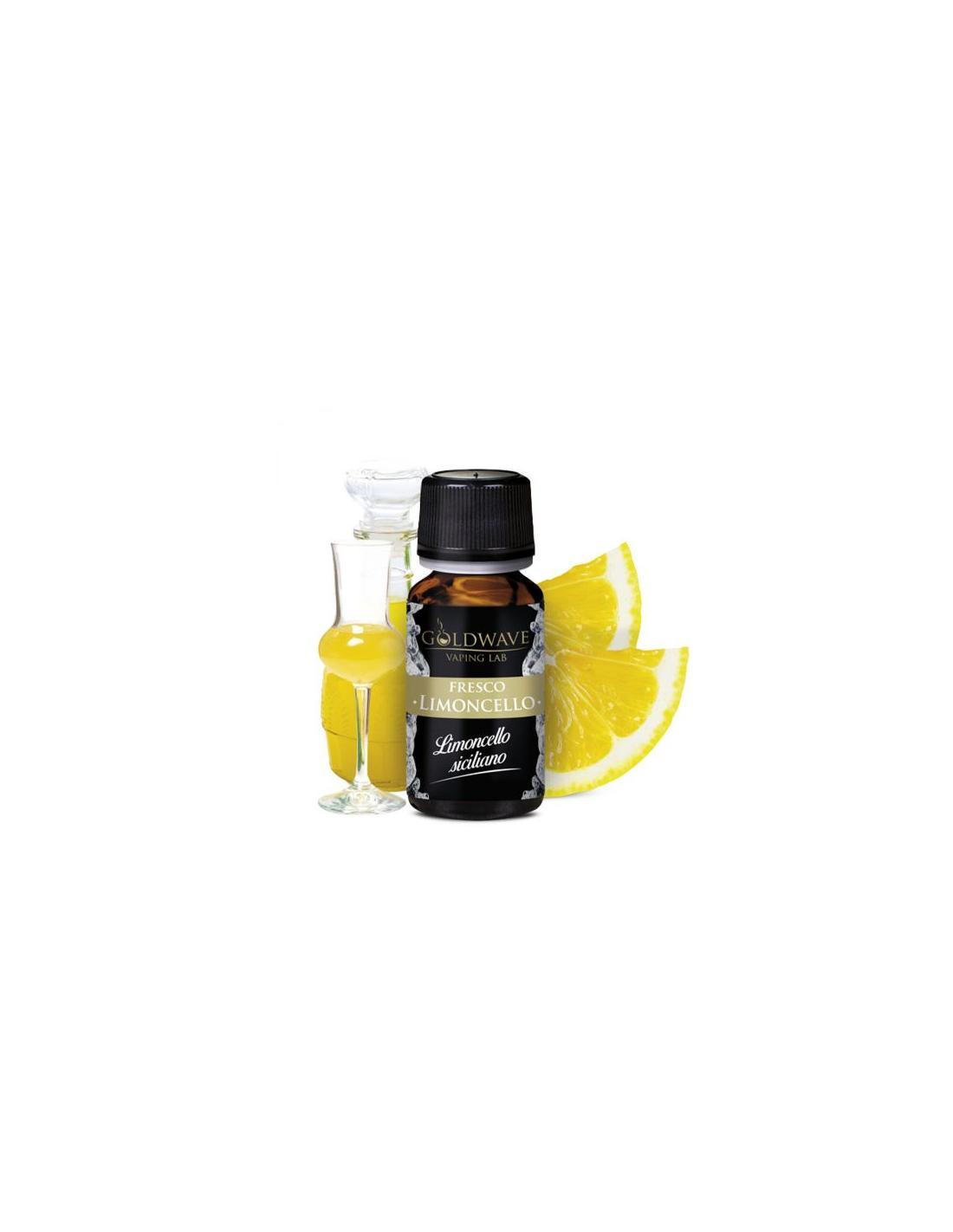 Goldwave Limoncello Liquido Aroma 10 Ml Drink Al Limone