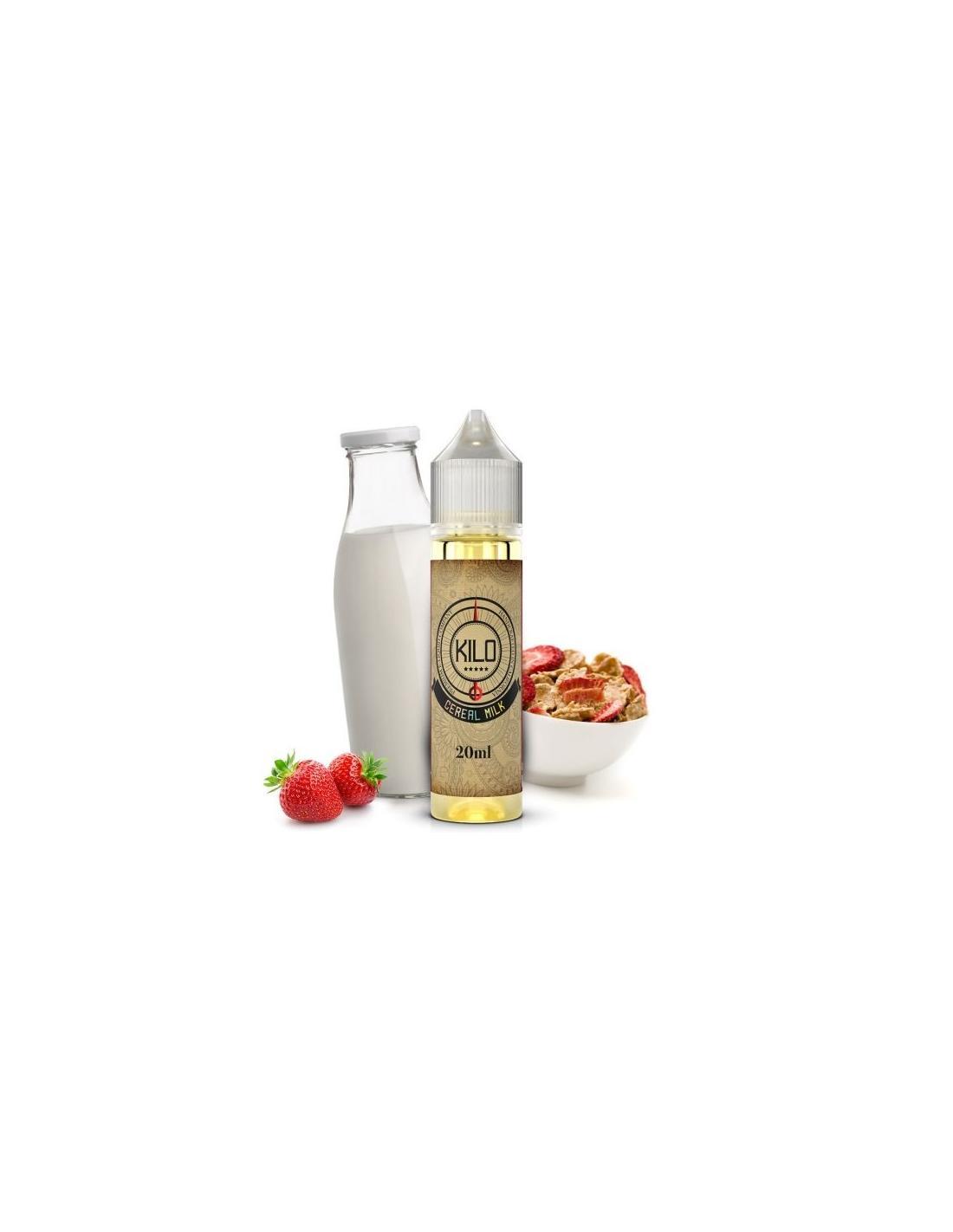 Kilo Cereal Milk Liquido 20ml Aroma Latte E Cereali Alla Fragola