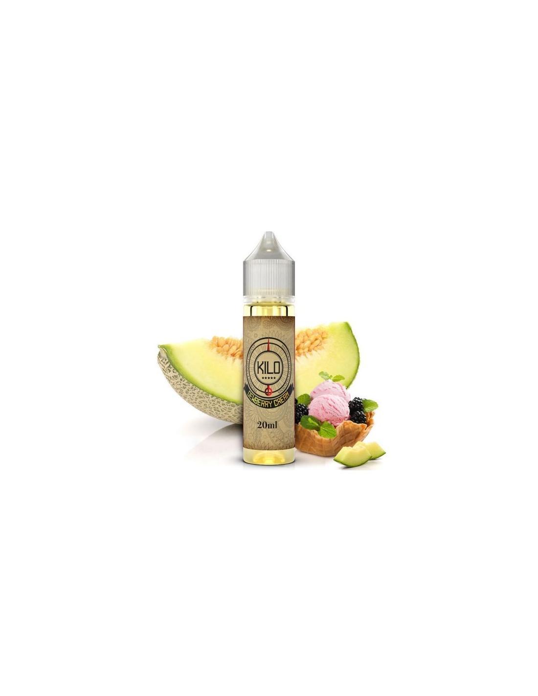 Kilo Dewberry Cream Liquido 20ml Aroma Gelato Melone E More