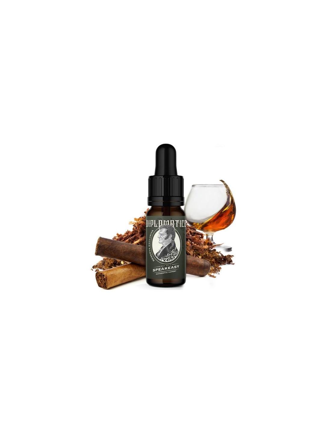 Vaplo Diplomatico Liquido Speakeasy Aroma 10 Ml Tabacco E Rum