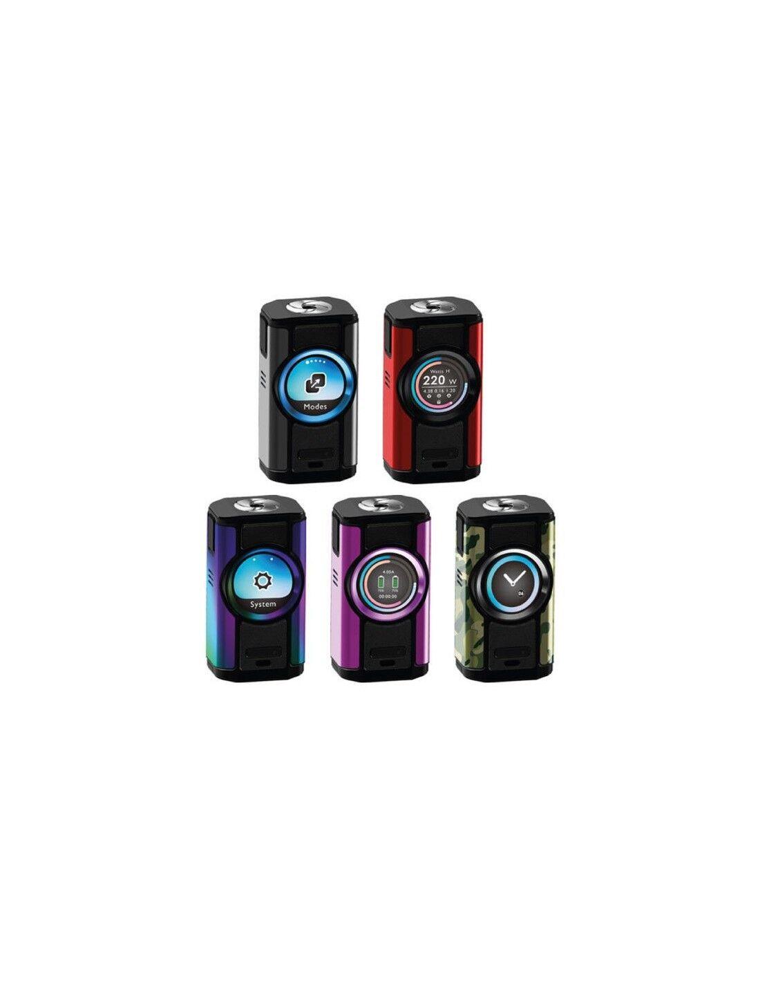 Aspire Dynamo Batteria Mod, Sigaretta Elettronica Con Potenza Massima 220w Tc Mode