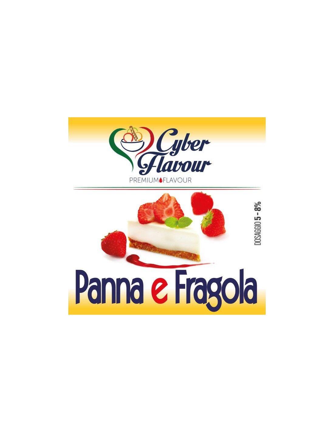 Cyber Flavour Panna E Fragola Aroma Concentrato