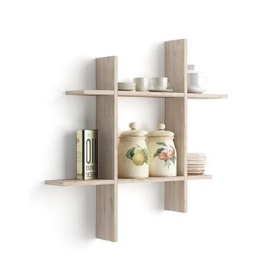 Mobili Fiver Mensole Angelica # 80x15 Quercia