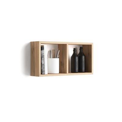 Mobili Fiver Cubo da parete First, Rovere Rustico