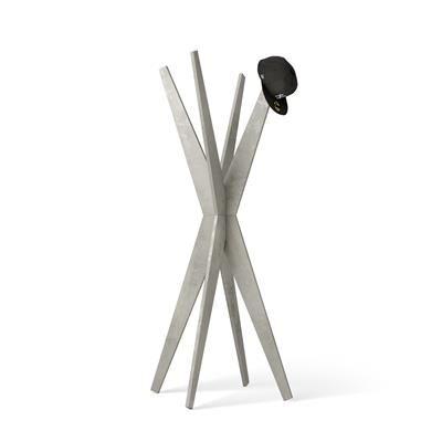 Mobili Fiver Appendiabiti da terra di Design, Emma Cemento