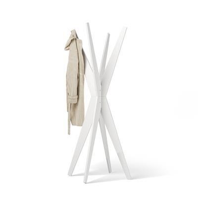 Mobili Fiver Appendiabiti da terra di Design, Emma Bianco Frassino