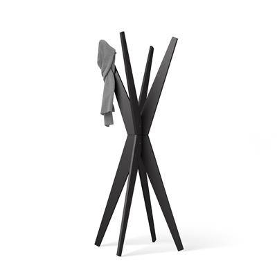 Mobili Fiver Appendiabiti da terra di Design, Emma Nero Frassino