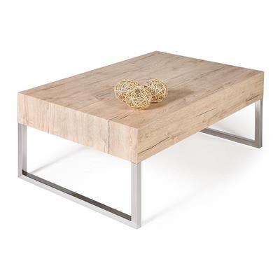 Mobili Fiver Tavolino per divano, Evolution XL, Quercia