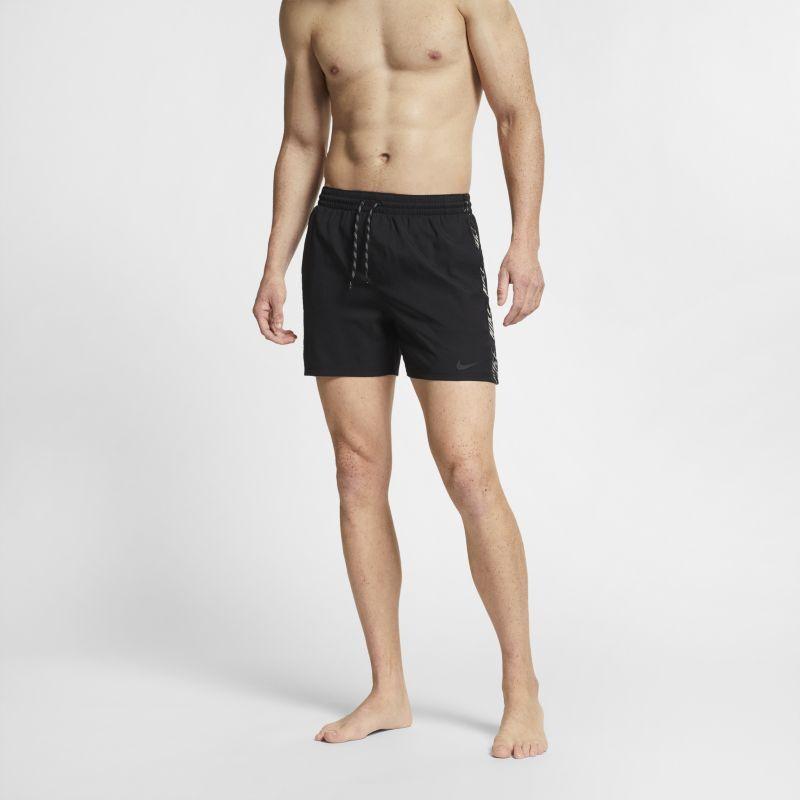 Nike Shorts da mare 13 cm Nike Swim Logo Splice Racer - Uomo - Nero