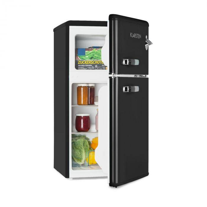 Klarstein Irene Combinazione Frigo da 61 l e Freezer da 24 l nero