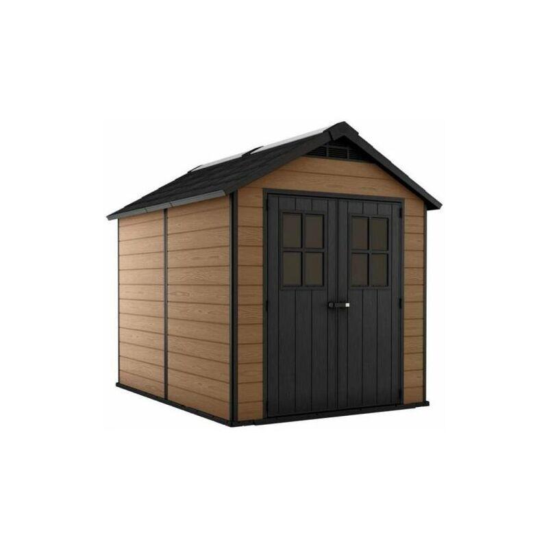 keter box casetta da giardino 228x350x252 cm keter newton 7511 70048