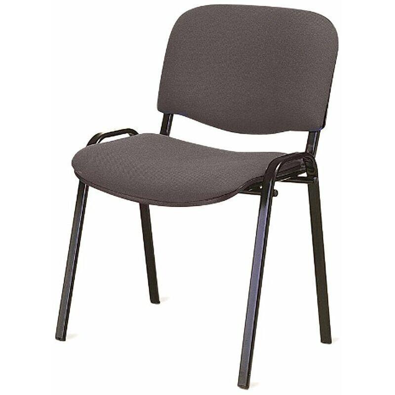 ltform sedia ergonomica mod. attesa in tessuto colore nero - ltform