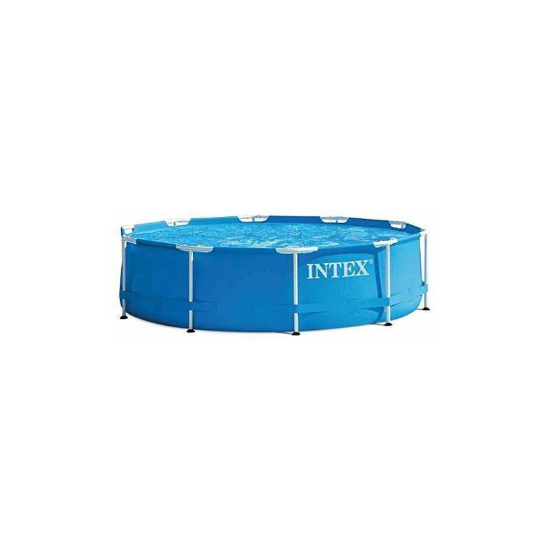 Intex Piscina Fuoriterra Frame Con Struttura Rotonda Tonda Cm 305 X