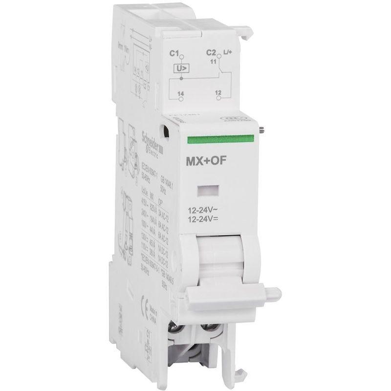 SCHNEIDER ELECTRIC Sganciatore lancio corrente mx+of 12/24vca/cc schneider - SCHNEIDER