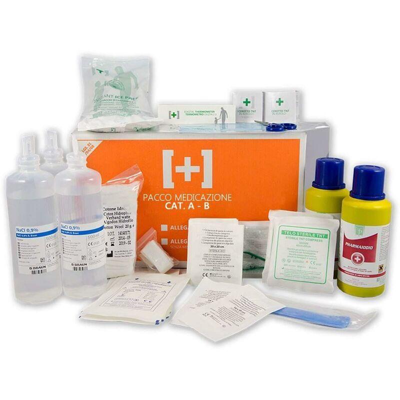 gls72-370 kit di reintegro allegato 1 per cassetta medica pronto soccorso + 3 dip