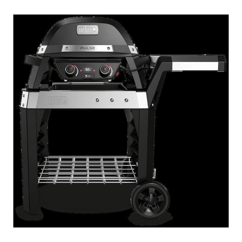 weber pulse 2000 - barbecue elettrico con carrello - modello 85010053 - weber