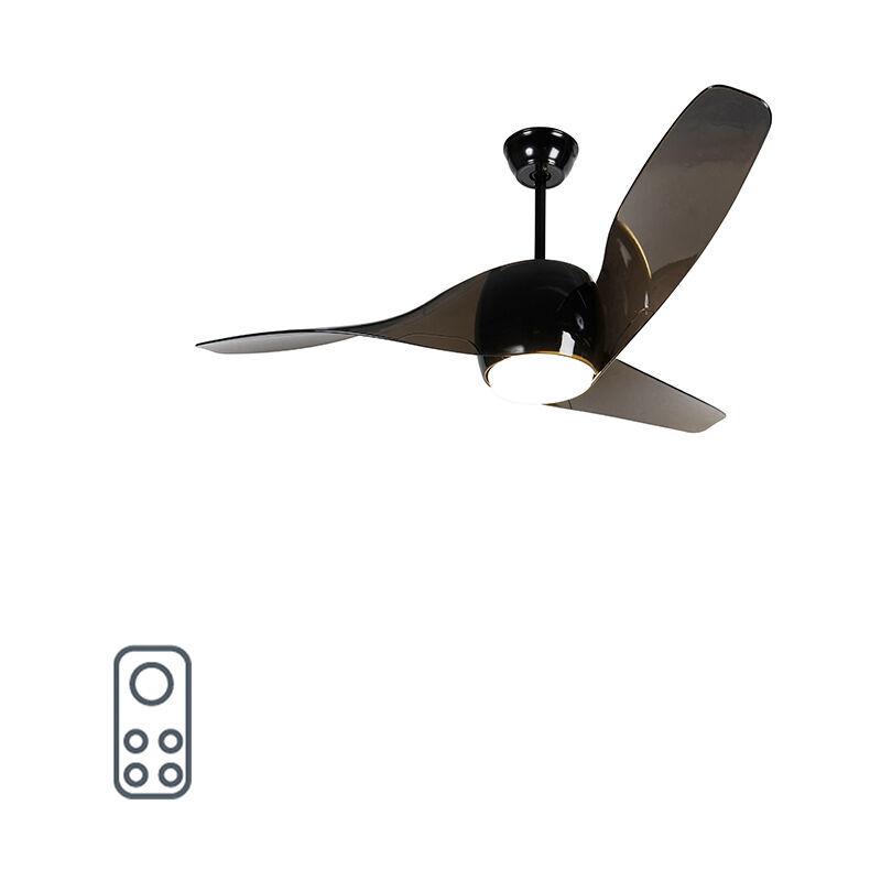 qazqa ventilatori da soffitto sirocco - moderno - plastico,acciaio