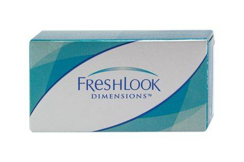 Alcon FreshLook Dimensions UV (2 pz), Lenti a contatto colorate mensili