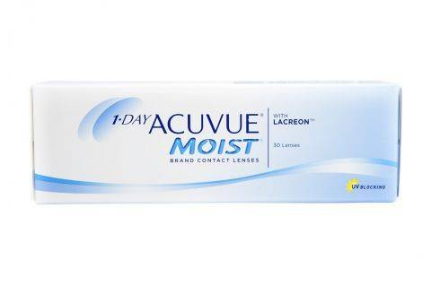 Johnson & Johnson 1 Day Acuvue Moist (30 pz), Lenti a contatto giornaliere