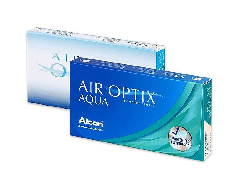 Alcon Air Optix Aqua (3 pz), Lenti a contatto mensili