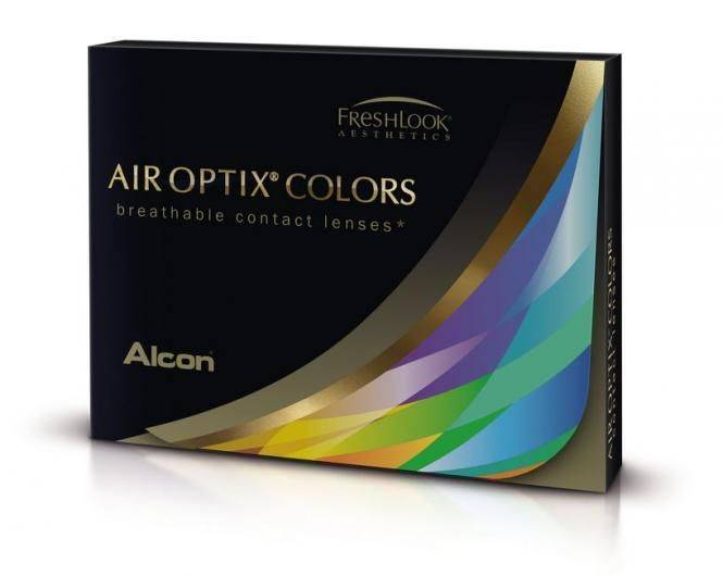 Alcon Air Optix Colors (2 pz), Lenti a contatto mensili colorate