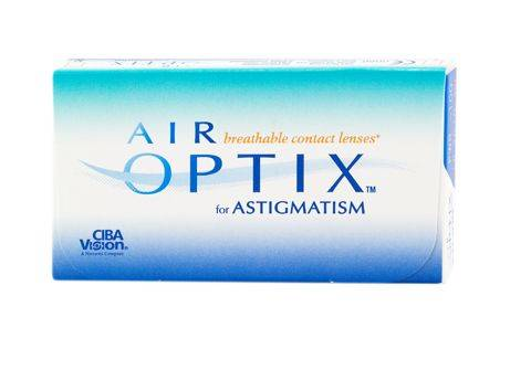 Alcon Air Optix For Astigmatism (3 pz), Lenti a contatto giornaliere