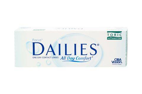 Alcon Focus Dailies All Day Comfort Toric (30 pz), Lenti a contatto giornaliere