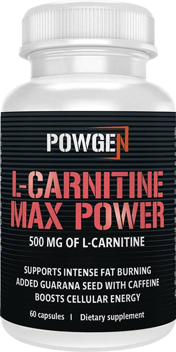 PowGen L-carnitina Max Power -20%