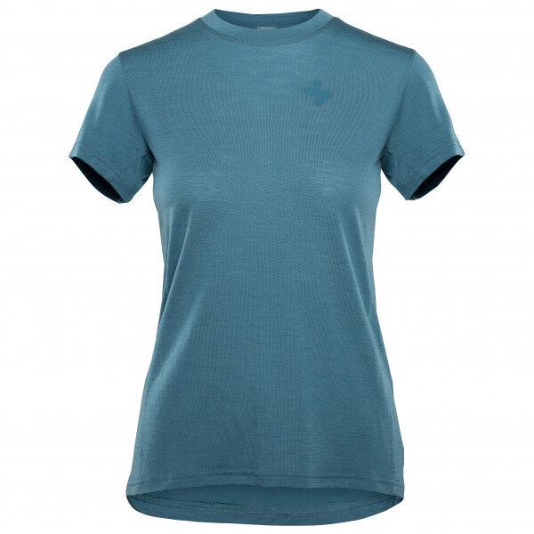Sweet Women's Hunter Merino S/S Jersey W Intimo lana merinos (L, blu/turchese)