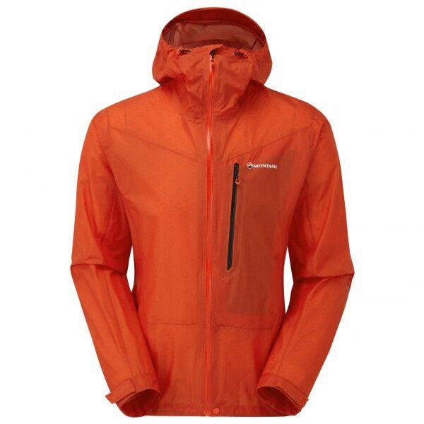 Montane Minimus Jacket Giacca antipioggia (L, rosso)